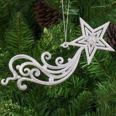 Коледна играчка звезда