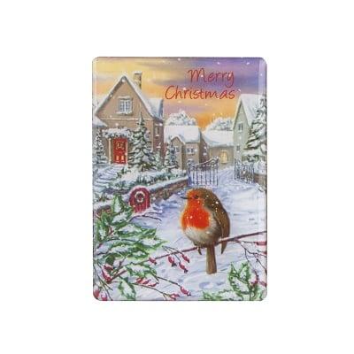 Коледен магнит птиченце