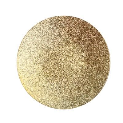 Подложка за свещ злато 15см