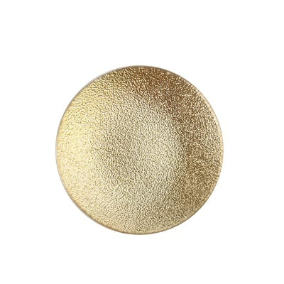 Подложка за свещ злато 12см