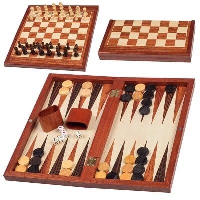 Шах с табла -  33х20х4см