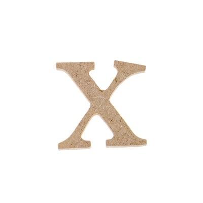"Декоративен символ RicoDesign, ""x"", MDF, 2,7X2,8 cm"