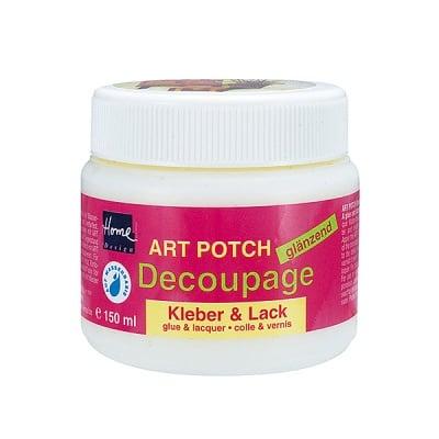 Декупажно лепило и лак Art Potch Decoupage, 150 ml, гланц