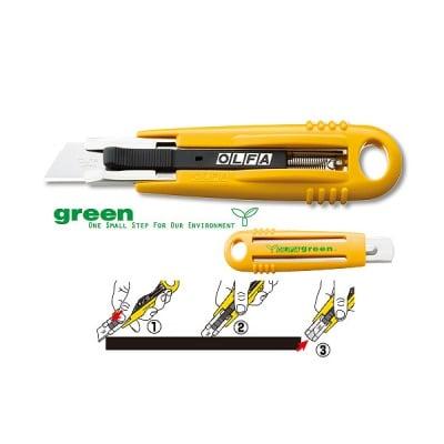 Макетен нож, OLFA SK 4 GREEN, 18 mm, LB, LBB