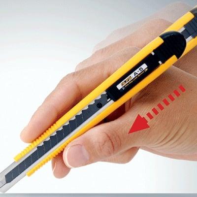 Макетен нож STANDARD, OLFA A 5, 9 mm, AB, ABBBB