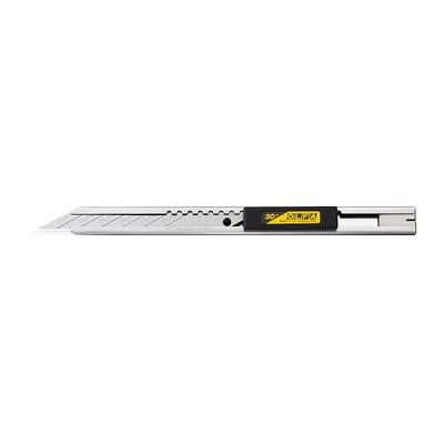 Макетен нож STANDARD, OLFA SAC 1, INOX, 9 mm, SAB, DKB