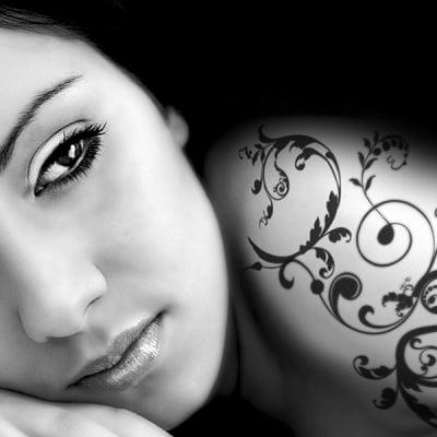 Писец за татуировки Tattoo Pen, връх четка, керемиден