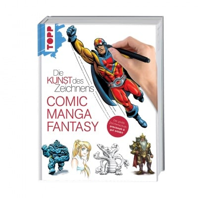 Книга техн. литература, Die Kunst des Zeichnens - Comic, Manga, Fantas
