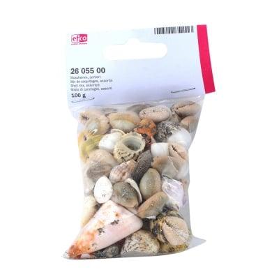 Морски микс, миди и рапани, 100 g.