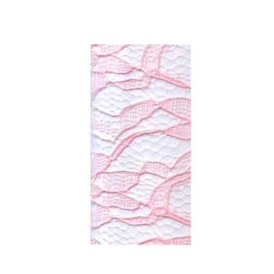 Лента дантела, 210 mm, 5 m, роза