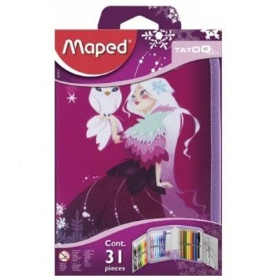 Несесер, MAPED TATOO Princess, 32 части, единичен