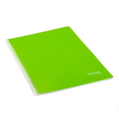 Тетрадка Notte Trend, A4, спирала, PP корица, 80 л., бели листа, 60 g/m2