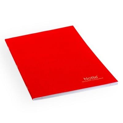 Тетрадка Notte School, A4, 100 л., ред, 60 g/m2