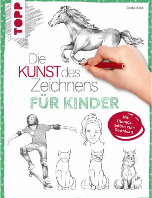 Книга на немски език TOPP, Kunst des Zeichnens f.Kinder, 144 стр.