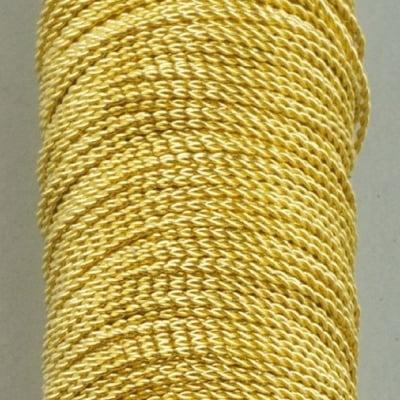 Месингова бижутерска корда, ф 0.45 mm, 15 м