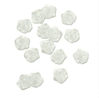 Декоративни перли, Розички, 18 mm, 15 бр, кремави