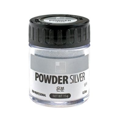 Пудра SHINHAN PRO METALIC, сребро, 20 g
