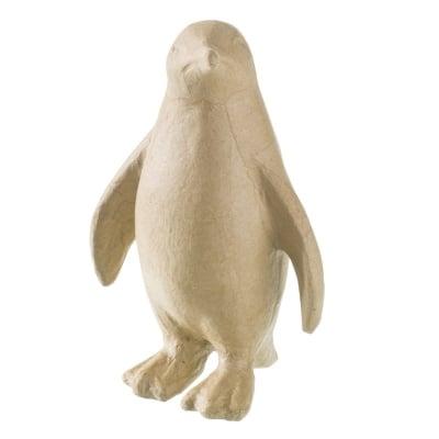 Фигура папиемаше, Пингвин, 15.5 x 9.5 x 22.5 cm