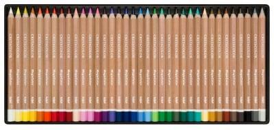 Цветни моливи Mega Color, комплект 36 цвята в метална кутия