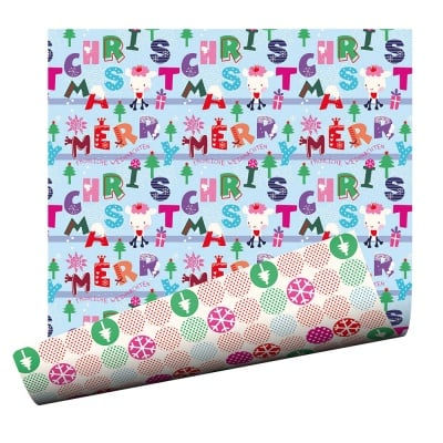 Варио картон, 300 g/m2, 50 x 70 cm, 1л, Весела Коледа