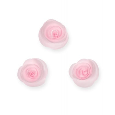 Декоративни розички, 30 mm, 9 бр., светлорозови