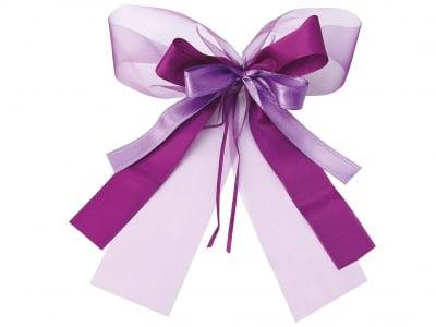 Комплект текстилни ленти, Schleifenfix, лилави