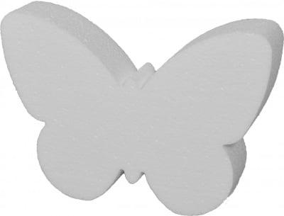 Пеперуда от стиропор, бял, 140 х 200 х 40 mm