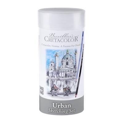 Комплект за скициране и рисуване Cretacolor, Urban, 24 ч.