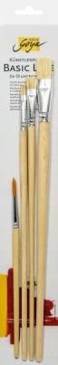 Комплект четки за акрилни бои SOLO Goya, 4 бр.