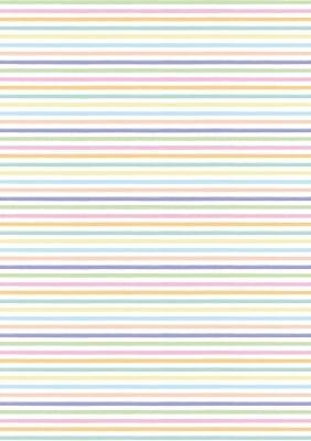 Прозрачна твърда хартия с цветни линии, 115 g/m2, 50 x 60 cm, 1 л.