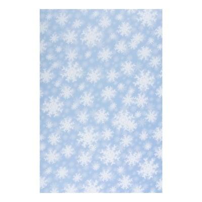 Хартия прозрачна твърда, 115 g/m2, 50 x 60 cm, 1л, Снежинки