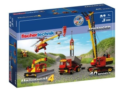 КОНСТРУКТОР FISCHERTECHNIK - 490 компонента, ADVANCED Universal 4