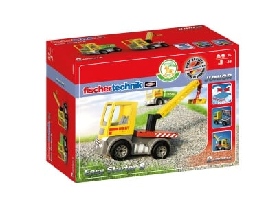 КОНСТРУКТОР FISCHERTECHNIK - 30 компонента, JUNIOR Easy Starter S