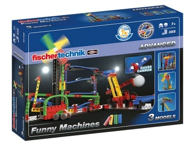 КОНСТРУКТОР FISCHERTECHNIK - 385 компонента, ADVANCED Funny Machines