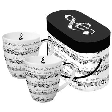 Комплект порцеланови чаши, Adagio, 2 бр.