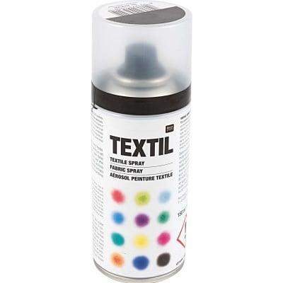 Спрей-боя за текстил, 150 ml, черен