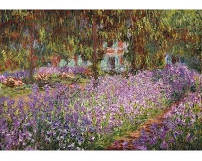 Пъзел художествен WENTWORTH, The artist's garden in Giverny, 250 части