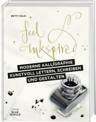Книга на немски език TOPP, Moderne Kalligraphie, 192 стр.