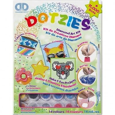 Креативен комплект Diamond Dotz, 31.5x25x4.5 cm, 1 брой