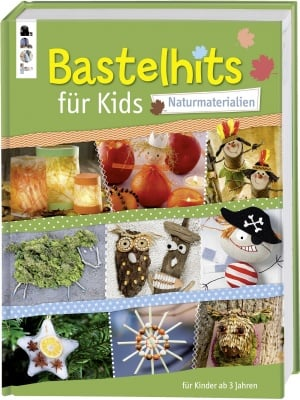 Книга на немски език TOPP, Bastelhits fur kids, 160 стр.