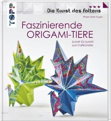 Книга на немски език TOPP, FASZINIERENDE ORIGAMI-TIERE (DIE KUNST DES FALTENS), 128 стр.
