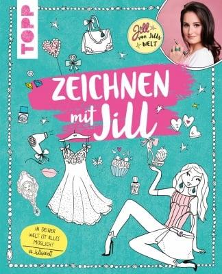 Книга на немски език TOPP, Zeichnen mit Jillм, 128 стр.