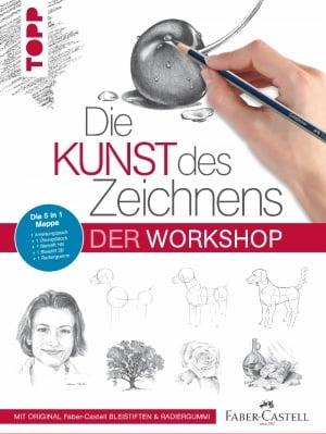 Книга на немски език TOPP, Die Kunst des Zeichnens - Der Workshop, 128 стр.