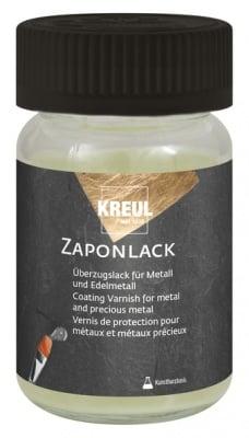 Лак безцветен за метални повърхности KREUL Zaponlack, 60 ml