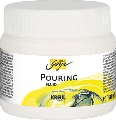 Медиум за акрилни бои Solo Goya Pouring fluid, 150 ml