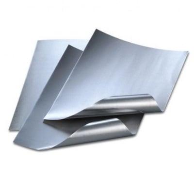 Алуминиево фолио, 20 х 30 см / 0,15 мм, 3 бр., сребърно/сребърно