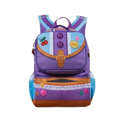 Раница Advent с чанта за храна, 43x31x16cm, лилава