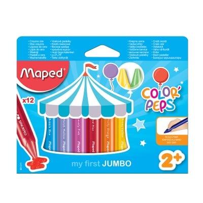 Комплект маслени пастели,Maped,COLOR` PEPS, 12 цв.
