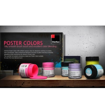 Плакатна боя ARTISTS' POSTER, 100 ml