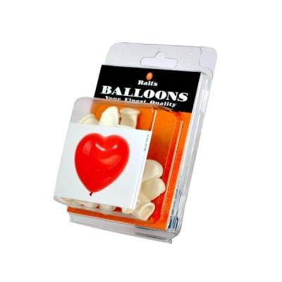 Балон с форма на сърце, 10 бр.